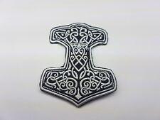 Quality Iron/Sew on Vikings biker patch Harley Davidson Thors hammer Odin tribal