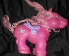 My Little Pony Pink with Purple Saddle 10 and 1/2 in tall