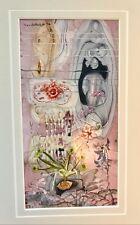 Original DAVID CURTIS BAKER Art 1915-1999 Listed SIGNED 1996, SURREAL GARDEN