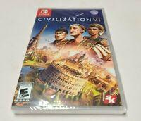 Sid Meier's Civilization VI (Nintendo Switch, 2018) NEW