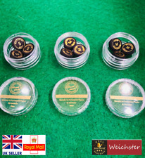 Weichster Laminated Leather Snooker Tips