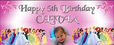 Le Ragazze Grandi Personalizzati Festa Di Compleanno Decorazioni Banner Disney Princess