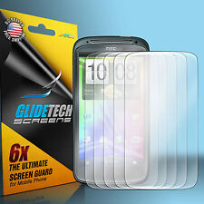 6 ULTRA Clear Front Screen Protector Cover Shield for HTC Sensation 4G T-Mobile