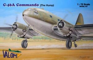 Valom 72145 1:72nd scale New for 2021 Curtiss C-46A Commando (The Hump)