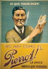 Original Plakat - Pierrot! La unica marca que perdura