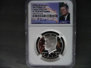 2017 s silver Kennedy half dollar NGC PF 70 Ultra Cameo