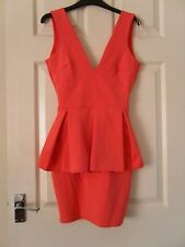 Boohoo Sleeveless Peplum Party Dresses for Women