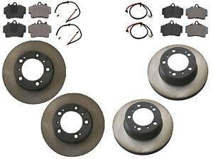 For Porsche Boxster 97-04 2.5 2.7 Ceramic Complete Brake Kit Rotors Pads Sensors