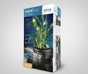 Elive Aquaduo 10 Gal Aquarium Fish Tank Filter 80 GPH Hydrocorn Aquaponics