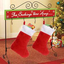 Traditional Santa Stockings Xmas Tree Decorations Ornament Candy Gift Holddn