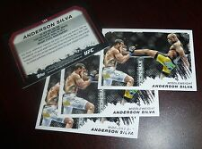 Anderson Silva 2011 Topps Moment of Truth UFC Card #165 153 148 134 126 117 112