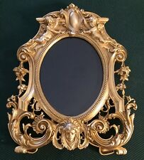 ELIAS, Artmetal, 18k Gold Electroplated, 'Good Forever', Picture Frame