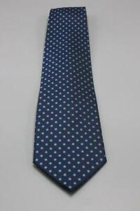 """PAUL SMITH Blue Silk Tie. Awesome Mini Floral Design. 60"""" x 4"""""""