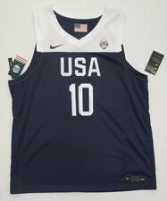 Nike Team USA Jayson Tatum Basketball Jersey Mens SIZE 3XL NWT White Blue