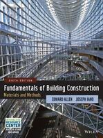 Fundamentals of Building Construction : Materials and Methods by Edward Allen an