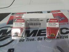 Mercury Gear Case Drain Screw 8M0058388 Pack of Two