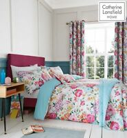 Catherine Lansfield Salisbury Floral EasyCare Quilt/Duvet Cover Collection Multi