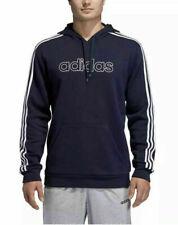 NWT Adidas Men's Fleece Pullover Sweatshirt Hoodie - Navy - SMALL