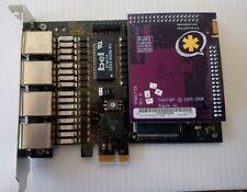 Digium TE420BF PCIe Express Quad E1/T1/J1 Echo Cancel ** 12 Months Warranty **