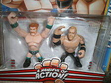 WWF WWE RUMBLERS SHEAMUS vs CHRISTIAN WRESTLING ACTION FIGURE 2 PACK