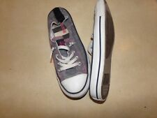 Converse All Star Tennis Shoes  with elastic back size 7W 5M