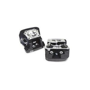 S&S Cycle 90-1504 Super Stock EVO Cylinder Heads - Black