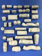 Army Tent Packs, Rucksacks for Truck Cargo, Diorama (1/35 True Details 35102)