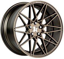 19X10 +30 Klutch KM20 Concave 5x114.3 Bronze Wheel Fits Mazda Rx7 Rx8 240Sx 300Z