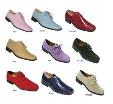 Men's Quality Printed Design Dress Shoes Unique Colors Size  8.5-16. Style 5733