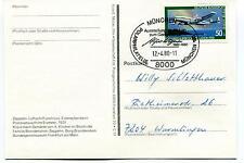Polarphilatelie Munchen Dirigibile Polar Antarctic Cover