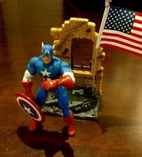 CAPTAIN AMERICA Action Figure ToyBiz MARVEL LEGENDS SERIES l 2002