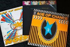 """Age of Chance Who's afraid of the big bad noise Time's Up Kiss 12"""" Vinyl Job Lot"""