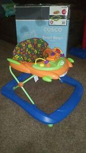 Vintage COSCO Beep! Beep! Baby Walker With wheels in box!