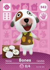 Bones NFC Tag/Coin Amiibo Card Animal Crossing New Horizons! Free Shipping!
