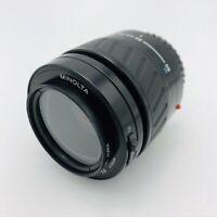Minolta AF Zoom Camera Lens Maxxum 35-80mm 1:4(22)-5.6 with UV Filter
