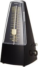 New NIKKO Standard Black Metronome 226 F/S From Japan