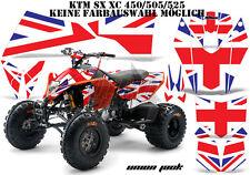 Amr racing decoración Graphic kit ATV ktm 450 505 525 SX XC Union Jack B