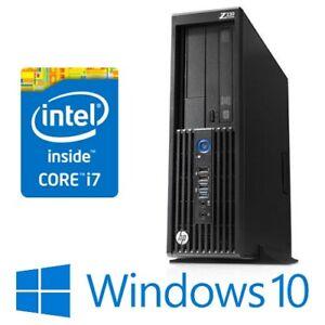 HP Z230 SFF PC Workstation Intel Core i7 4790 16G 256G SSD DVDRW Win 10 Pro