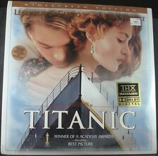 Titanic - Widescreen Edition THX Laserdisc, New, Leonardo DiCaprio Kate Winslet