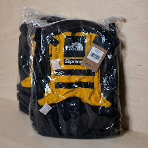 Supreme x TNF RTG Backpack Yellow One Size, DS BRAND NEW