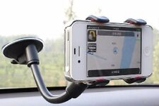 "10"" AUTO CAR ACCESSORY 360° Rotating Phone Windshield Mount GPS Holder Stand"