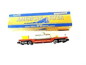American Flyer 948 S Track Cleaning Service Car used original store display