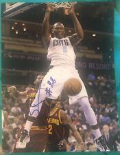 Bismack Biyombo Signed 8X10 Photo Orlando Magic Hornets Nba W/Coa+Proof Rare Wow
