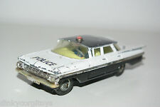 CORGI TOYS 481 CHEVROLET IMPALA POLICE PATROL CAR EXCELLENT CONDITION