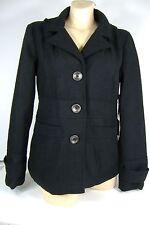 New Junior Womens Medium Jack BB Dakota Black Snow Winter Jacket $60