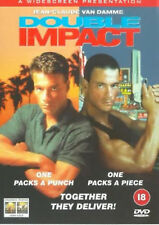 DOUBLE IMPACT DVD Jean Claude Van Damme New and Sealed Original UK Release R2