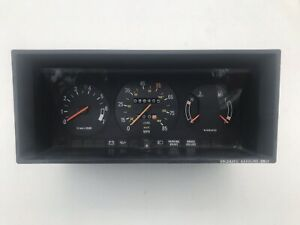 Volvo 240 Instrument Cluster - With Tach And Cable Speedometer, Original