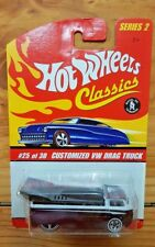 Hot Wheels 2006 Classics Series 2 #25 CUSTOMIZED VW DRAG TRUCK Purple (A+/A-)