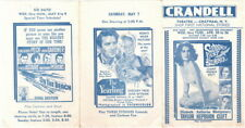 Suddenly, Last Summer, The Yearling, Crandell Theatre, Chatham, NY 1959