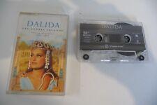 DALIDA K7 AUDIO TAPE CASSETTE LES ANNEES ORLANDO. BOITIER FENDU A CHANGER.